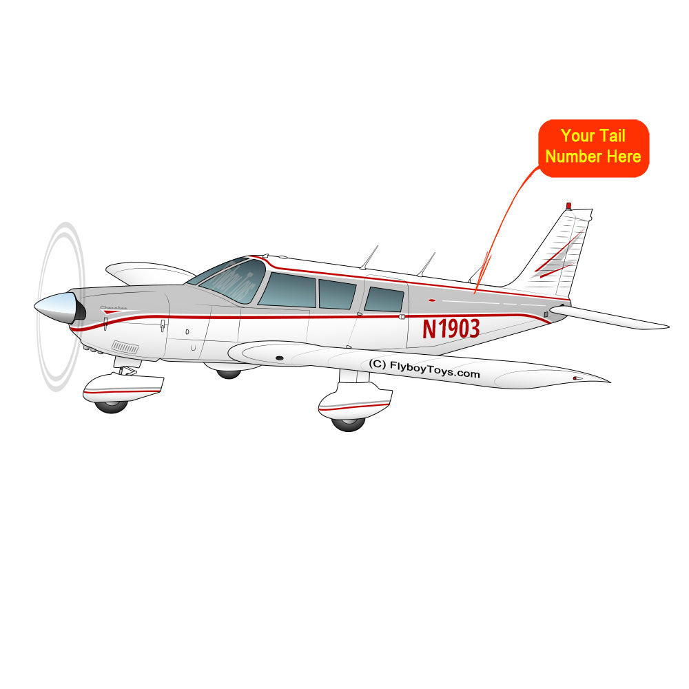 Airplane Design (Silver/Red) - AIRG9G3856-SR1