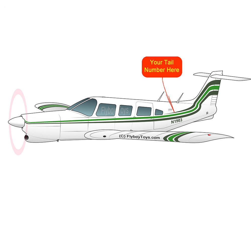 Airplane Design (Green/Black) - AIRG9GC1E-GB1