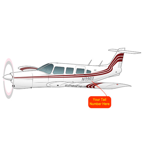 Airplane Design (Red) - AIRG9GC1E-R1