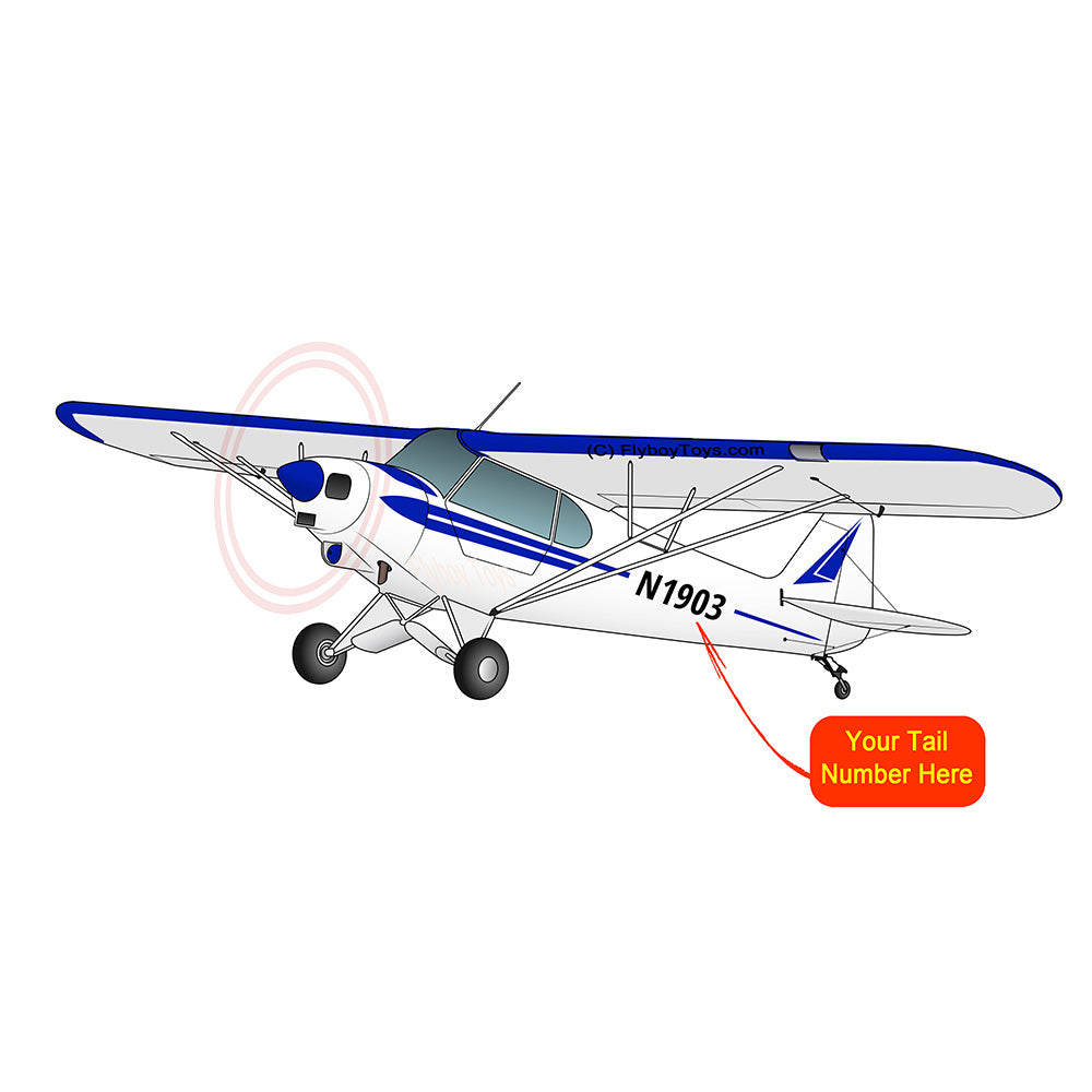 Airplane Design (Blue) - AIRG9GG1H-B1
