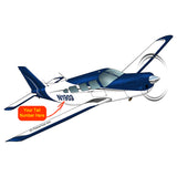 Airplane Design (Blue #3) - AIRG9GJ1I-B3