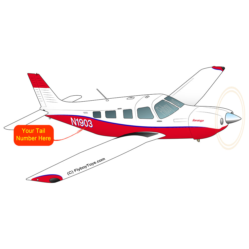 Airplane Design (Red/Blue) - AIRG9GJ1I-RB1