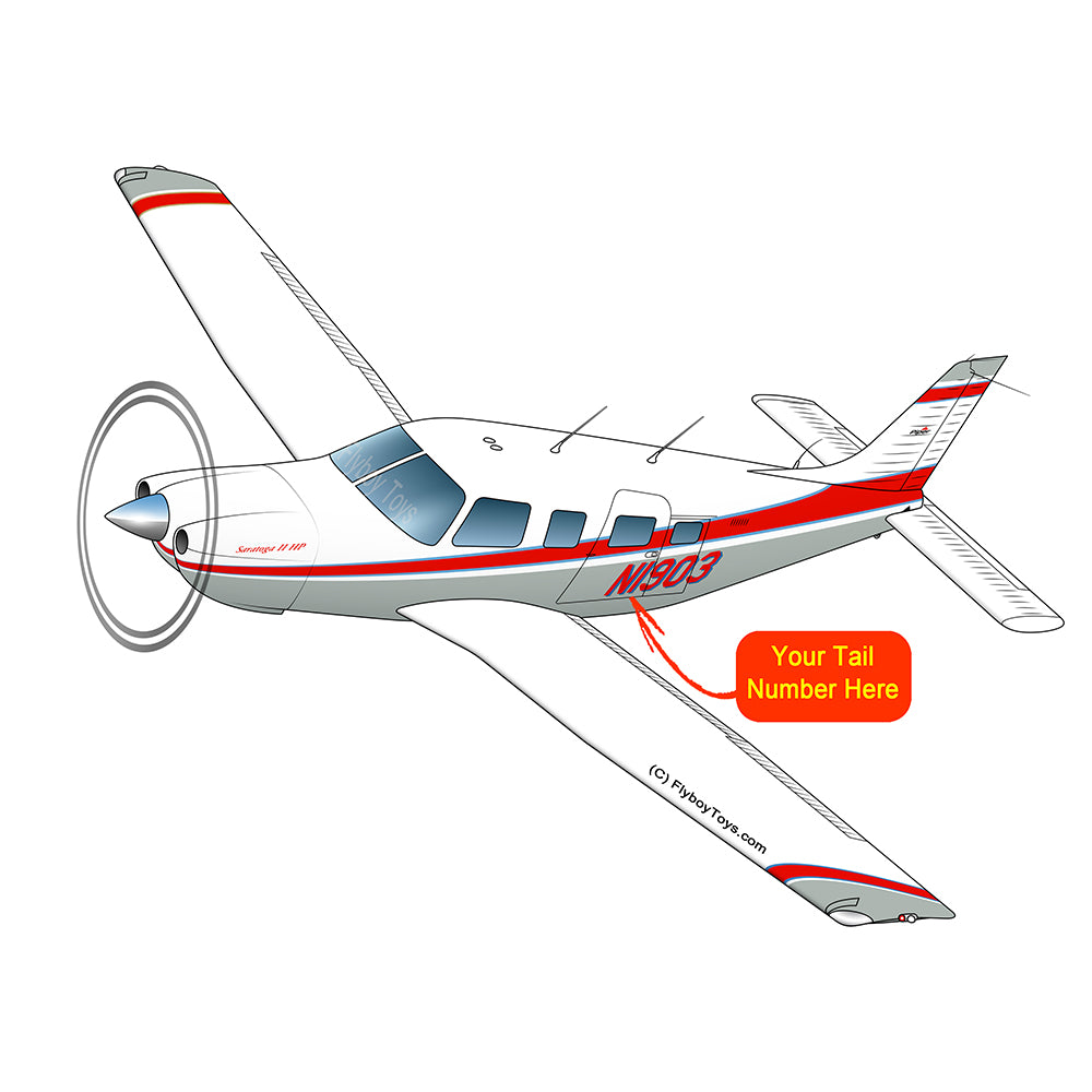 Airplane Design (Red/Silver) - AIRG9GJ1I-RS1