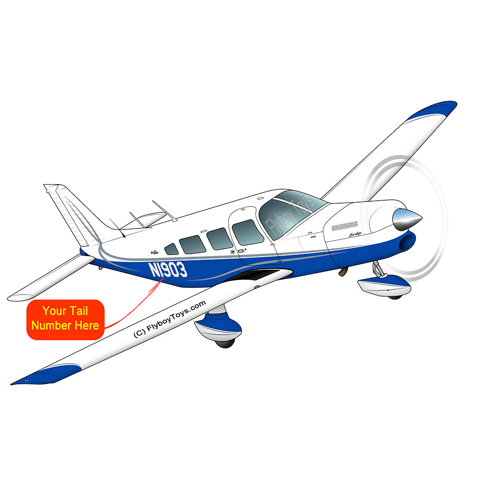 Airplane Design (Blue/Silver) - AIRG9GJ1I-SB1