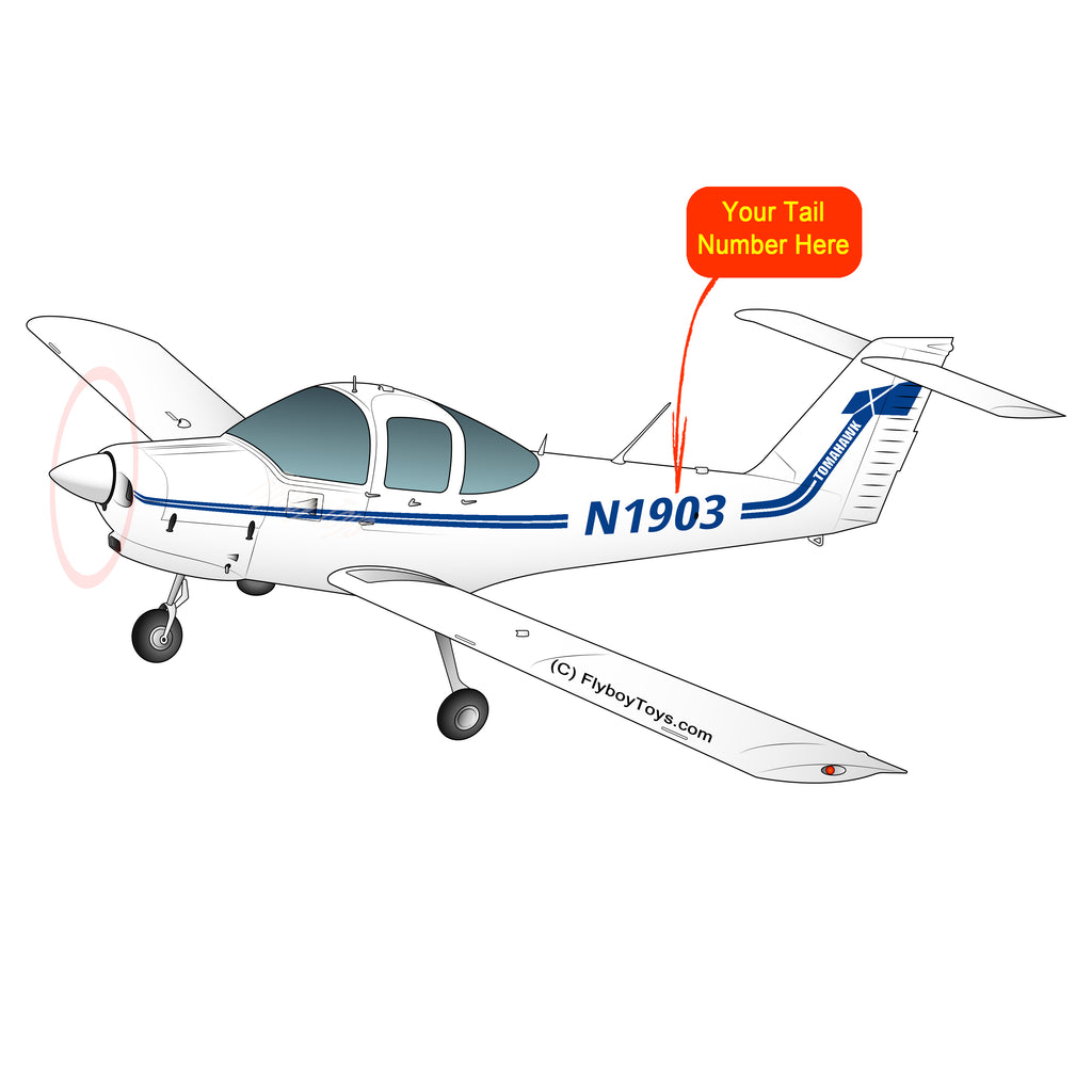 Airplane Design (Blue) - AIRG9GKFD-B1