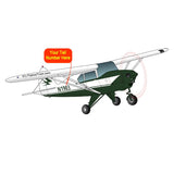Airplane Design (Green) - AIRG9GKI9-G1