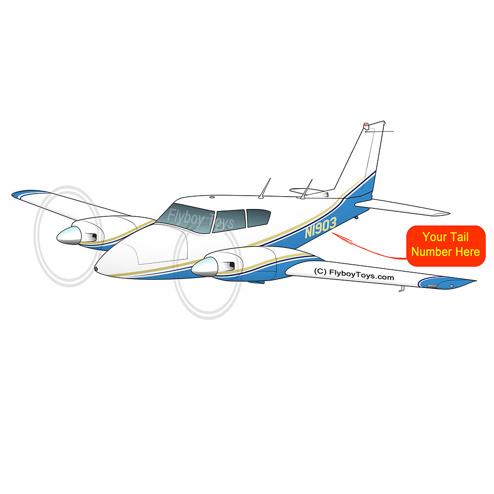 Airplane Design (Blue) - AIRG9GKN9-YB1