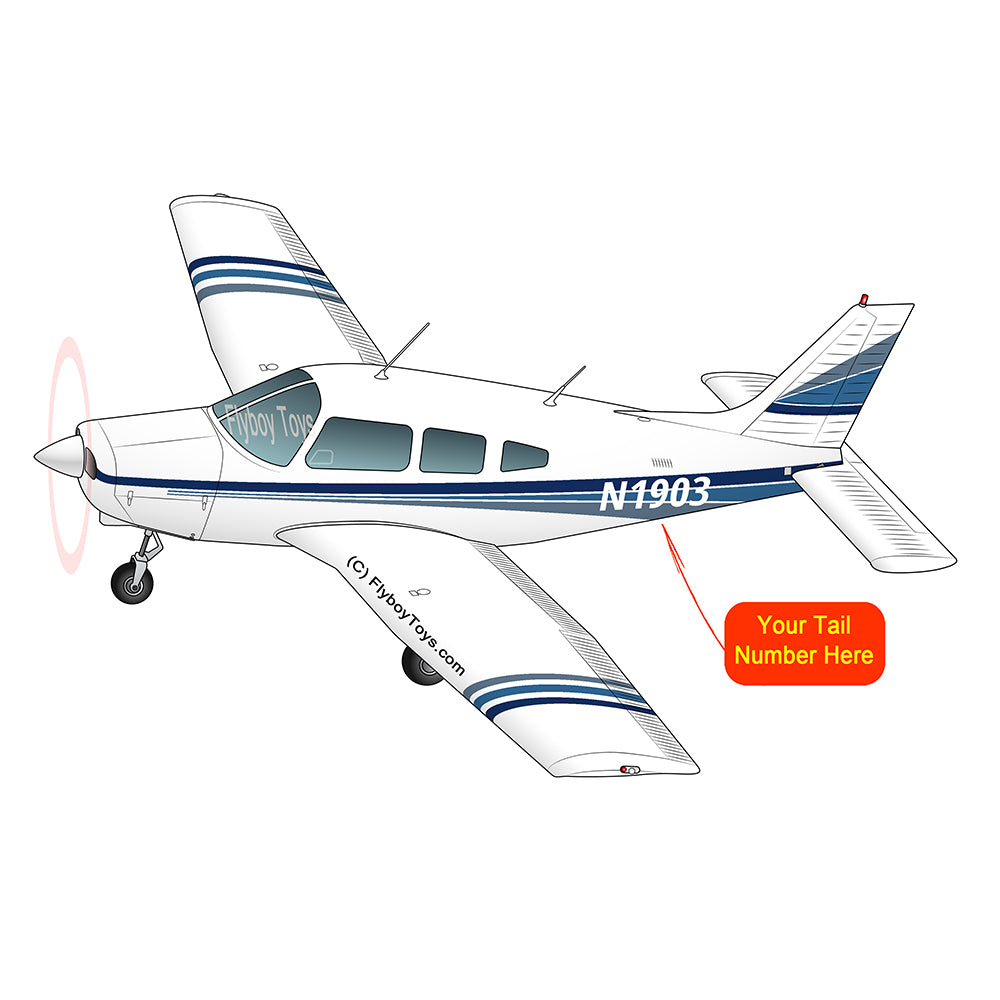 Airplane Design (Blue) - AIRG9GN1I-B1