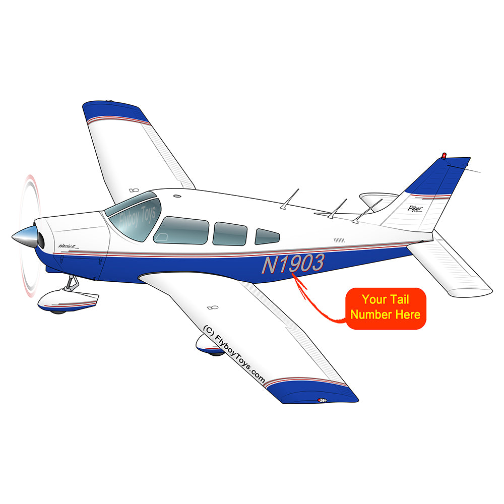 Airplane Design (Blue/Red) - AIRG9GN1I-BR1