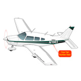Airplane Design (Green) - AIRG9GN1I-G1