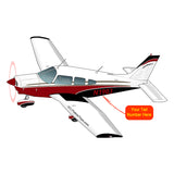 Airplane Design (Red/Black) - AIRG9GN1I-RB1