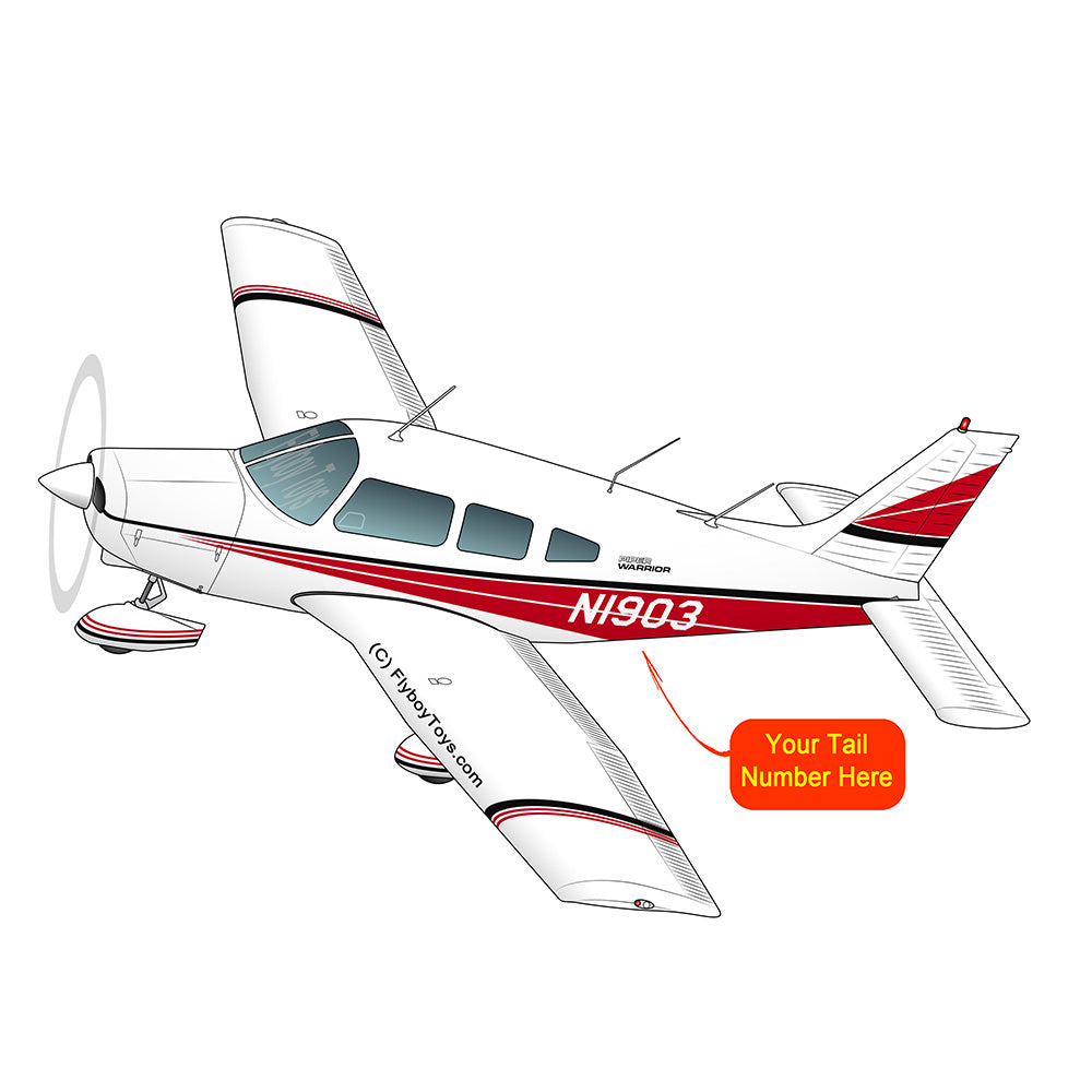 Airplane Design (Red/Black#2) - AIRG9GN1I-RB2
