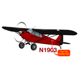 Airplane Design (Red) - AIRG9GPA12-R1