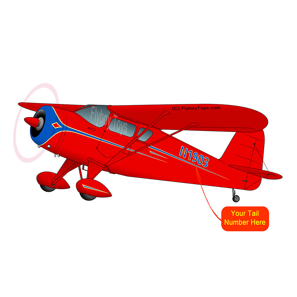 Airplane Design (Red) - AIRI513CF8090