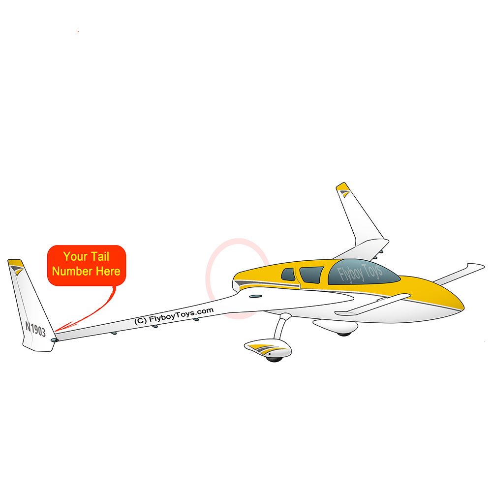 Airplane Design (Yellow) - AIRILK3FQ-Y1