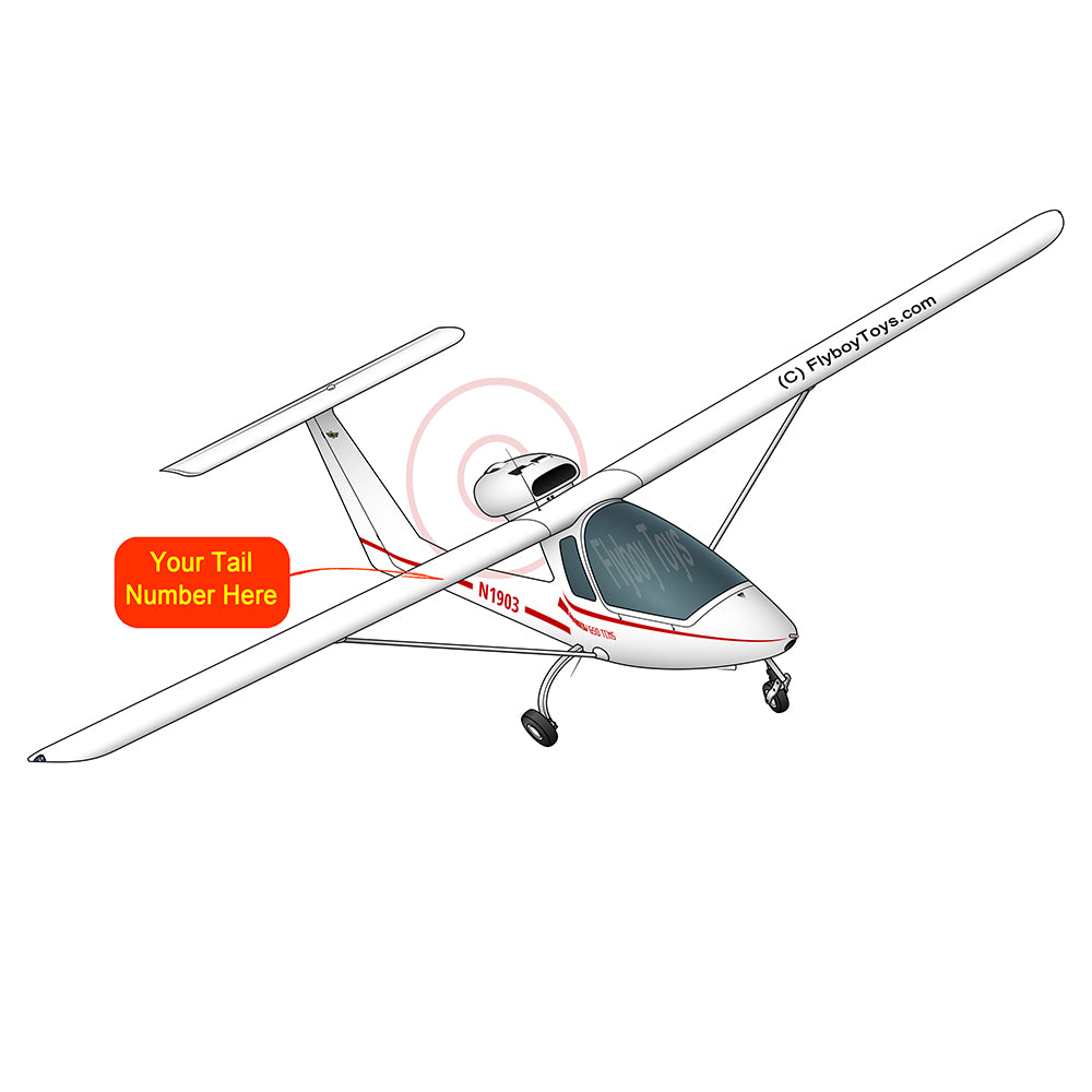 Airplane Design (Red #1) - AIRJBP1II650-R1