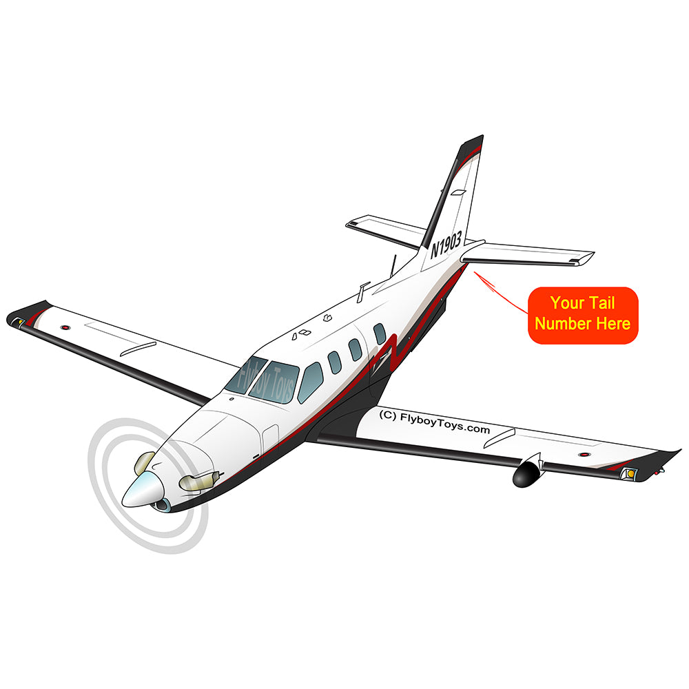 Airplane Design (Silver/Red/Black) - AIRJF3K2D850-SRB1