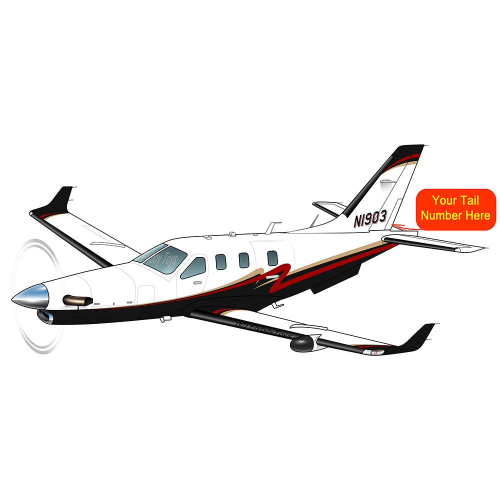 Airplane Design (Black/Red/Gold) - AIRJF3K2D930-BRG1