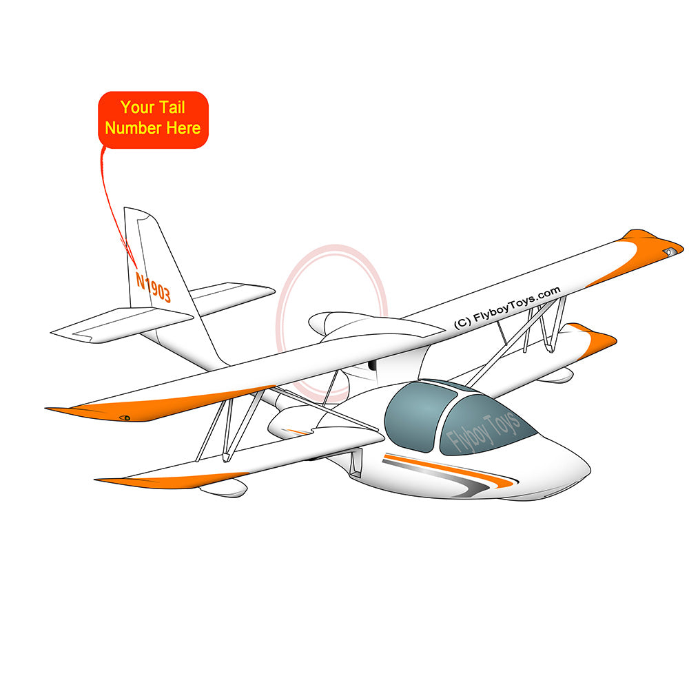 Airplane Design (Orange) - AIRJLGG5K-O1