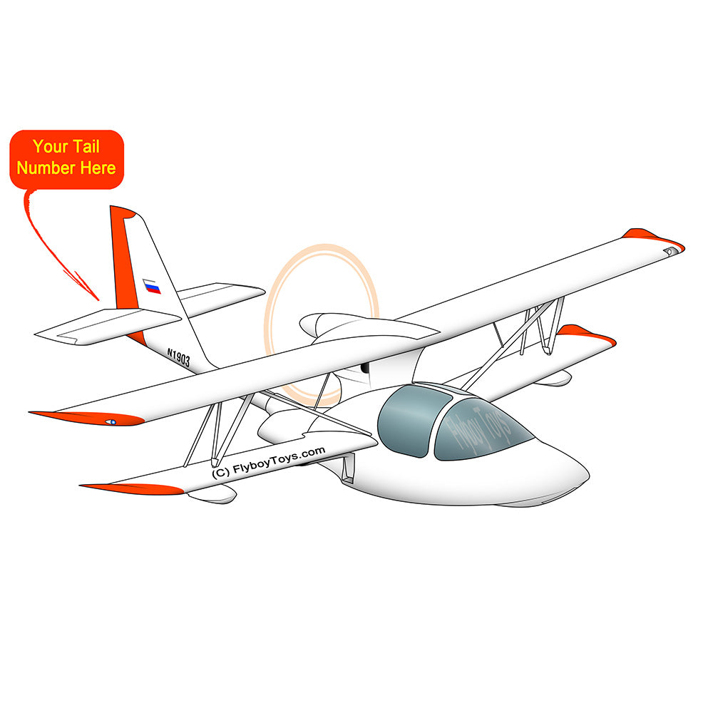 Airplane Design (Orange #2) - AIRJLGG5K-O2
