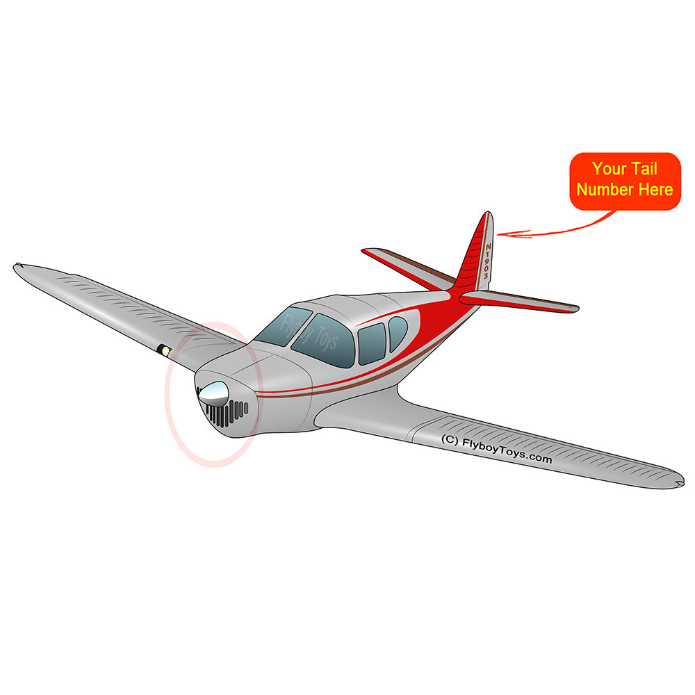 Airplane Design (Red #1) - AIRJN9-R1