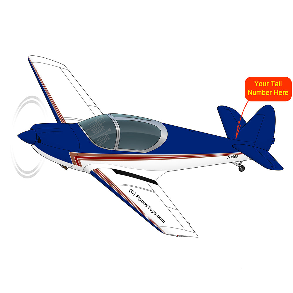 Airplane Design (Red/Blue) - AIRJN9GC1B-RB1