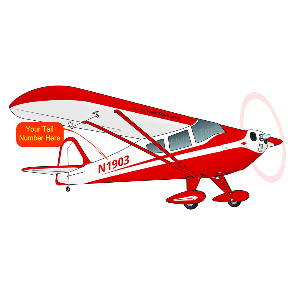 Airplane Design (Red) - AIRK1PF21B-R1