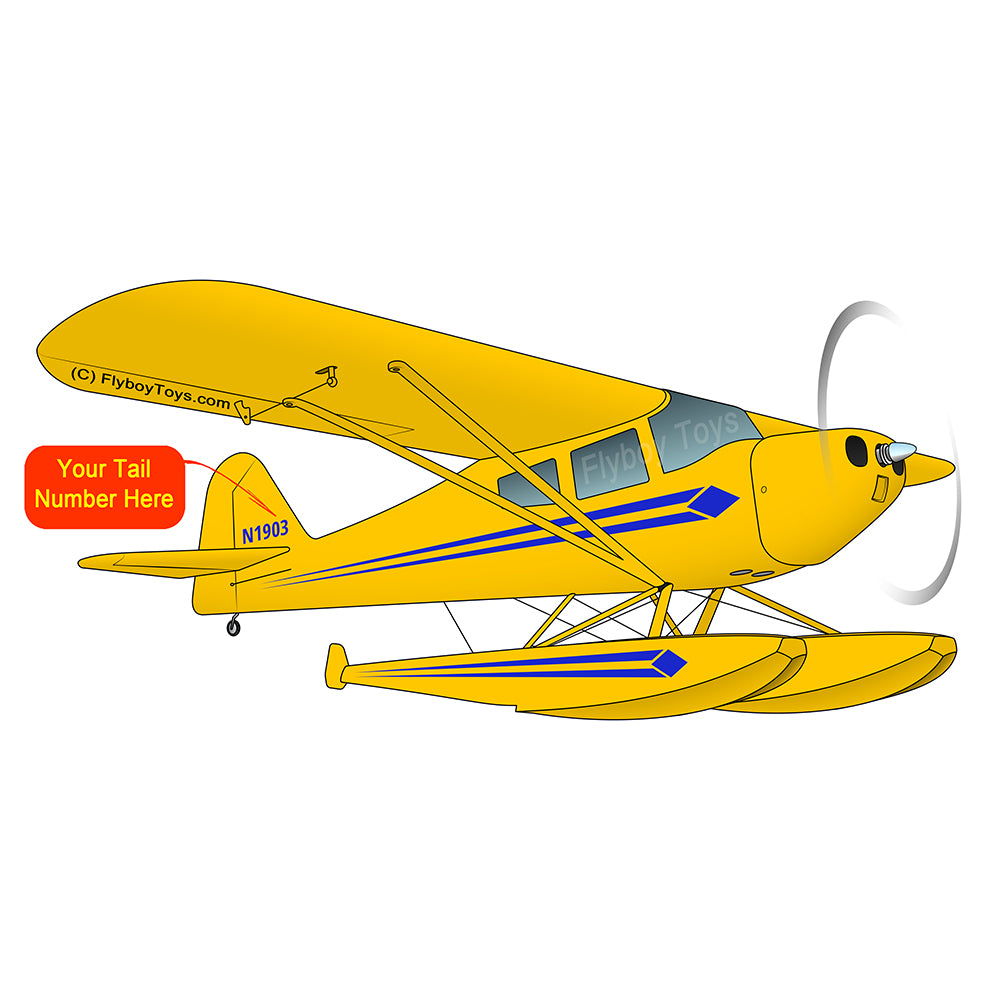 Airplane Design  (Yellow) - AIRK1PF21BFL-Y1