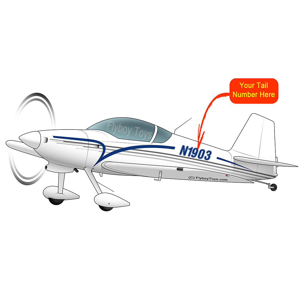 Airplane Design (Blue/Silver) - AIRM1EIM6-BS1