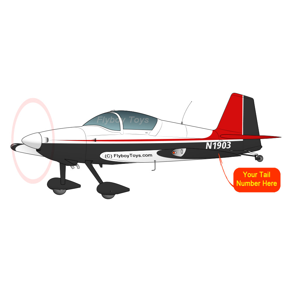 Airplane Design (Red/Black) - AIRM1EIM6-RB1