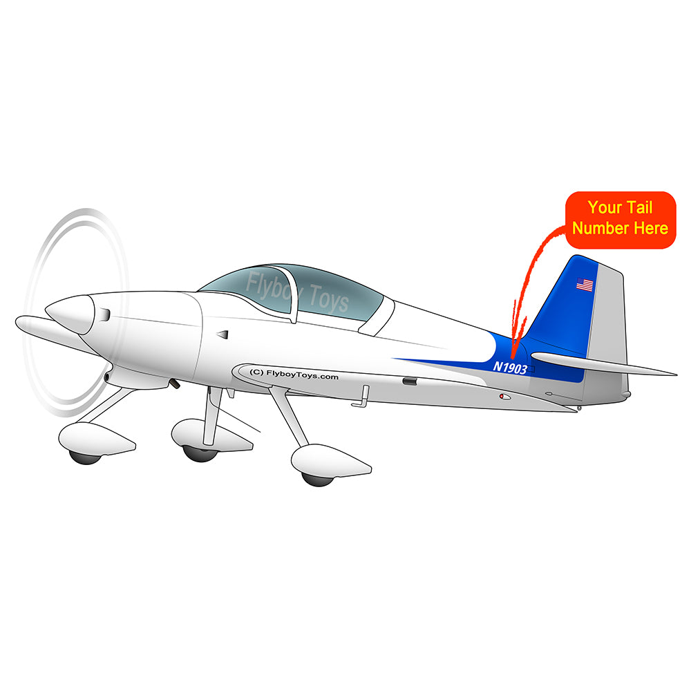 Airplane Design (Blue) - AIRM1EIM6A-B1