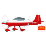 Airplane Design (Red #1) - AIRM1EIM6A-R1
