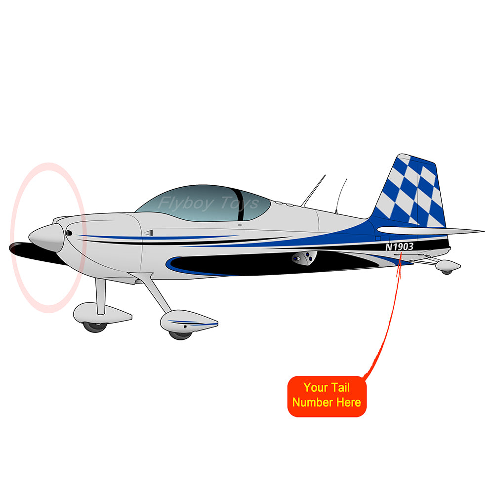Airplane Design (Blue/Black) - AIRM1EIM7-B1