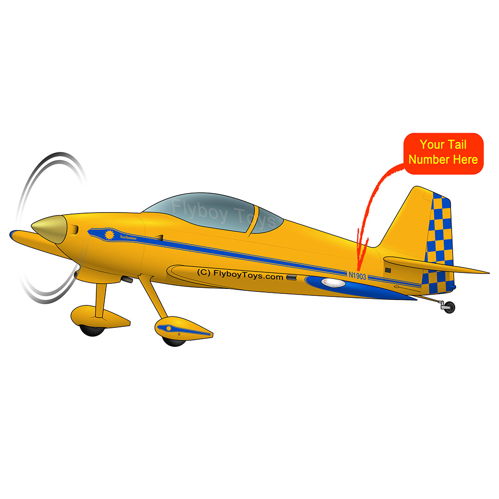 Airplane Design (Yellow/Blue) - AIRM1EIM7-YB1