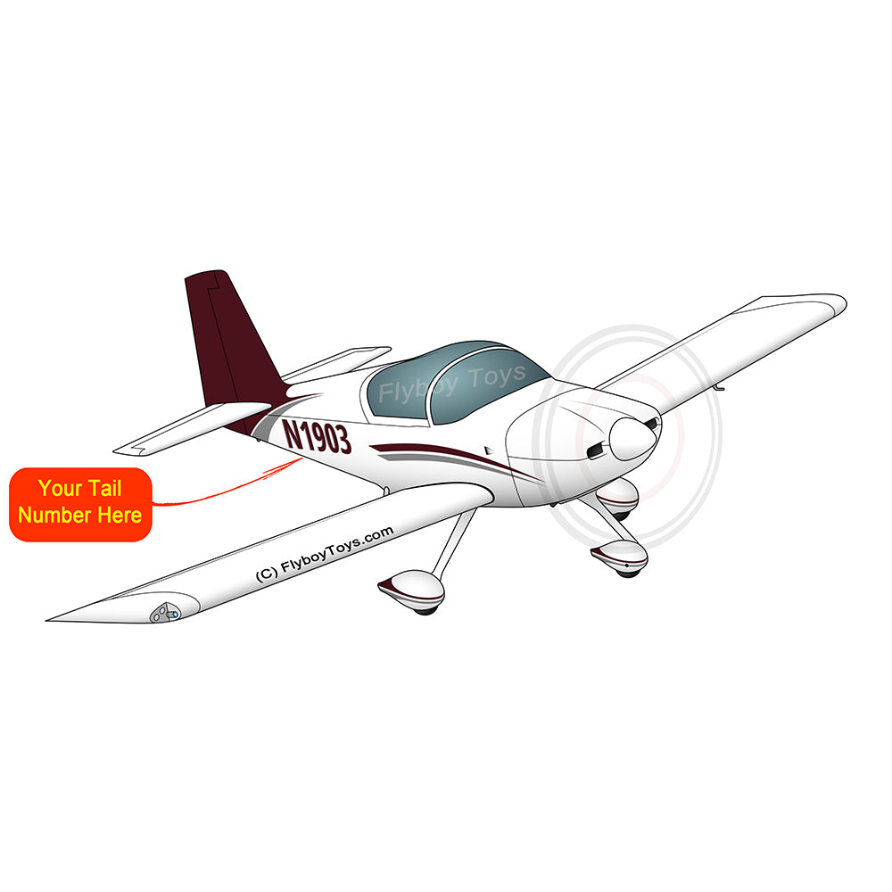 Airplane Design (Brown/Silver) - AIRM1EIM7A-BS1