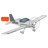 Airplane Design (Silver) - AIRM1EIM7A-S1