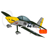Airplane Design (Black/Silver/Yellow) - AIRM1EIM8-BSY1