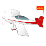 Airplane Design (Red) - AIRM1EIM8-R1