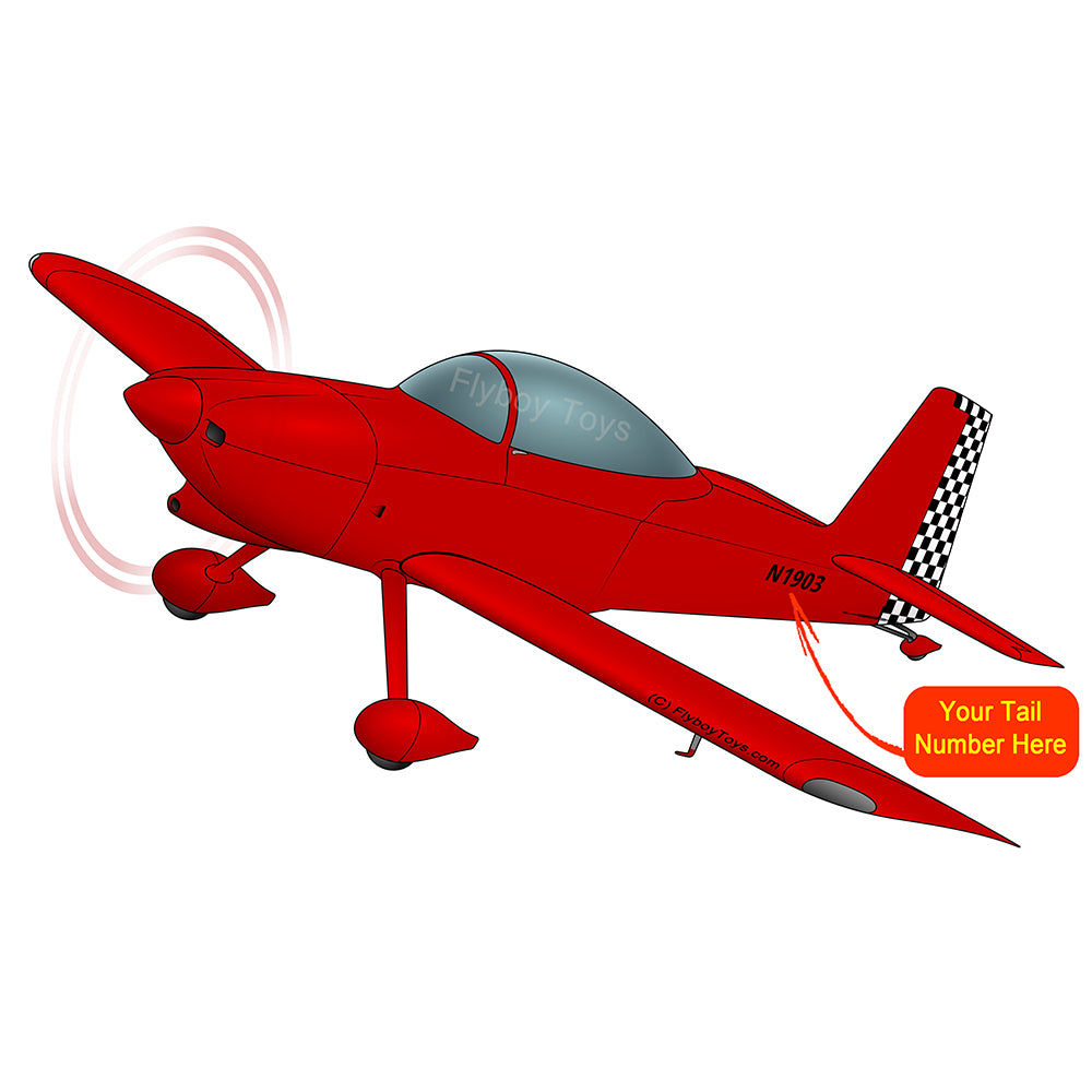 Airplane Design (Red #2) - AIRM1EIM8-R2