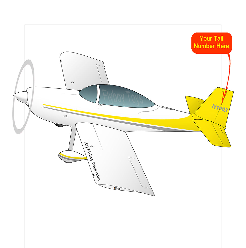 Airplane Design (Yellow) - AIRM1EIM8-Y1