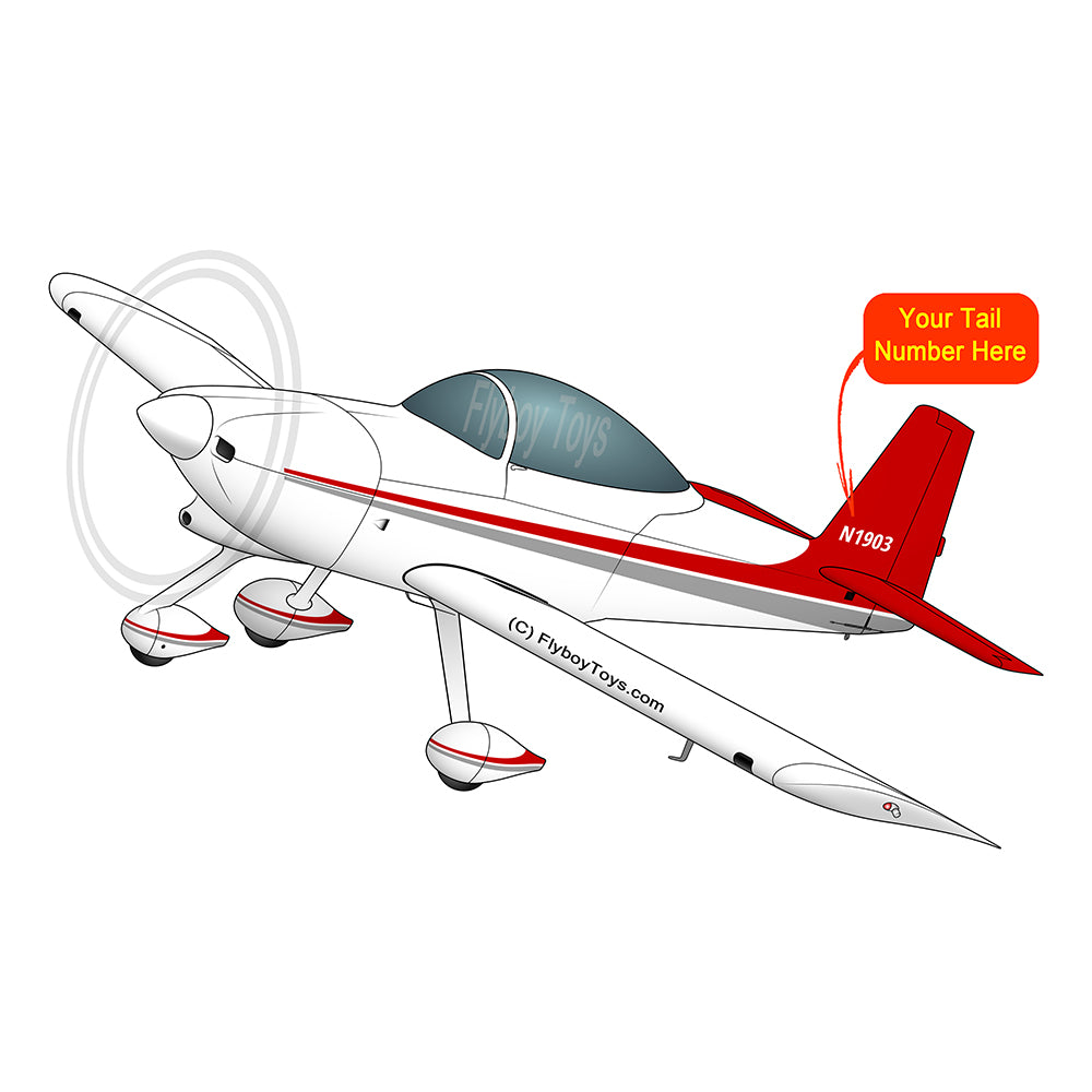 Airplane Design (Red) - AIRM1EIM8A-R1