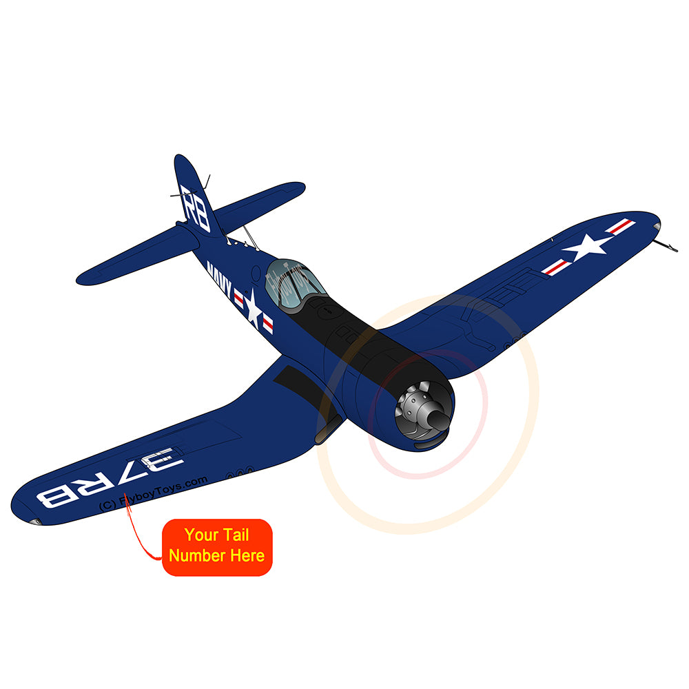 Airplane Design (Blue) - AIRMFL3FI64L-B1