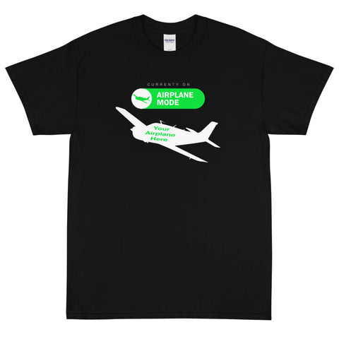 Airplane Mode Theme T-Shirt - Personalized w/ Your Airplane
