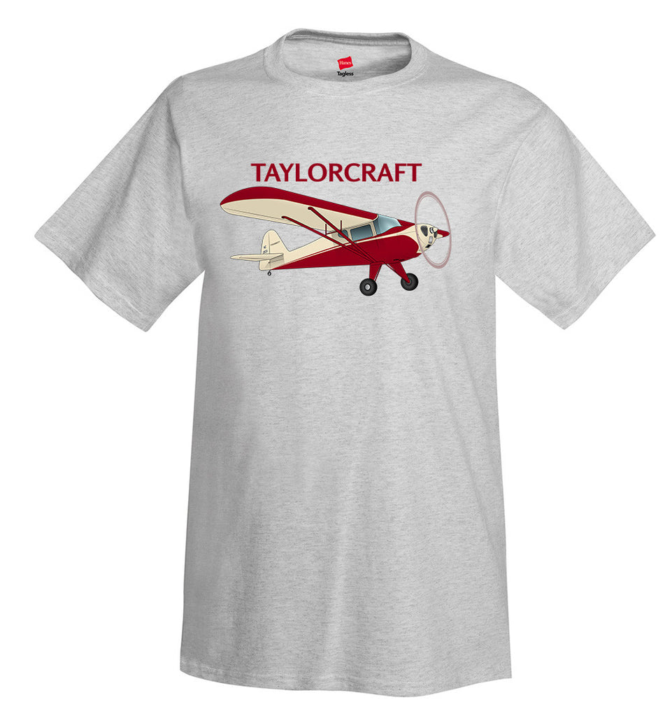 Taylorcraft F-21B Airplane T-Shirt - Personalized with Your N#