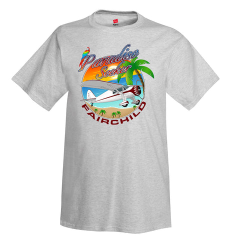 Fairchild 24 C8C Airplane T-Shirt - Personalized with Your N#