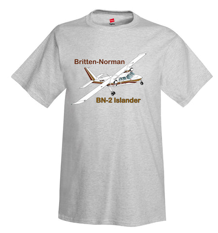 Britten-Norman BN-2 Islander Airplane T-Shirt - Personalized with Your N#