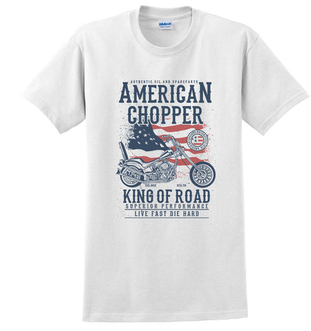 American Chopper King of Road Vintage Motorcycle T-shirt