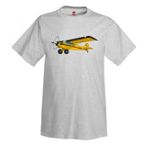Airplane T-Shirt AIR1M98LJ-YBR1 - Personalized w/ Your N#
