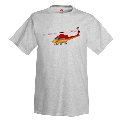 Helicopter T-Shirt HELI25C412-RG1 - Personalized w/ Your N#