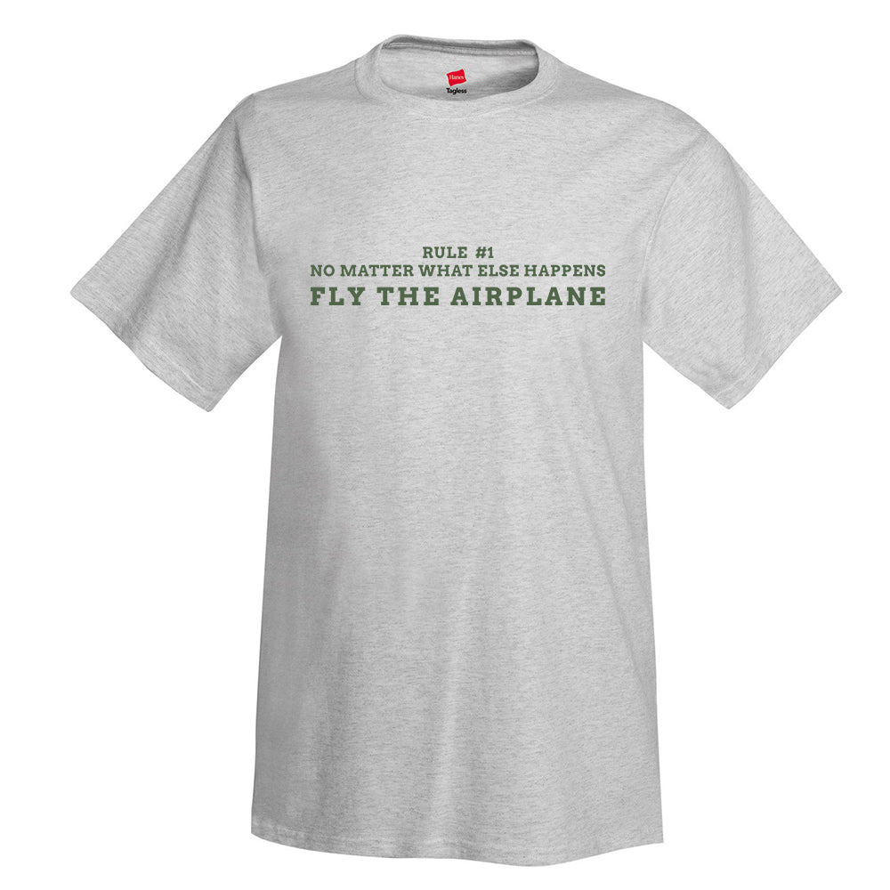 Fly the Airplane Aviation T-Shirt